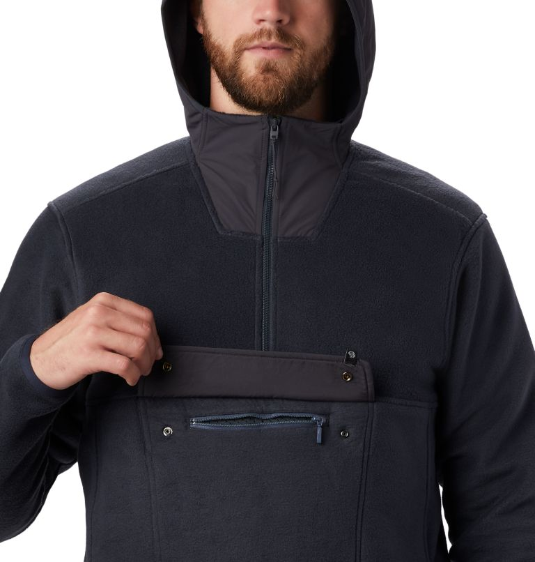 UnClassic™ Fleece Hoody | 004 | S Men's UnClassic™ Fleece Pullover, Dark Storm, a2