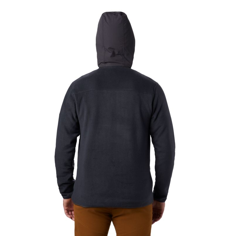 UnClassic™ Fleece Hoody | 004 | S Men's UnClassic™ Fleece Pullover, Dark Storm, back