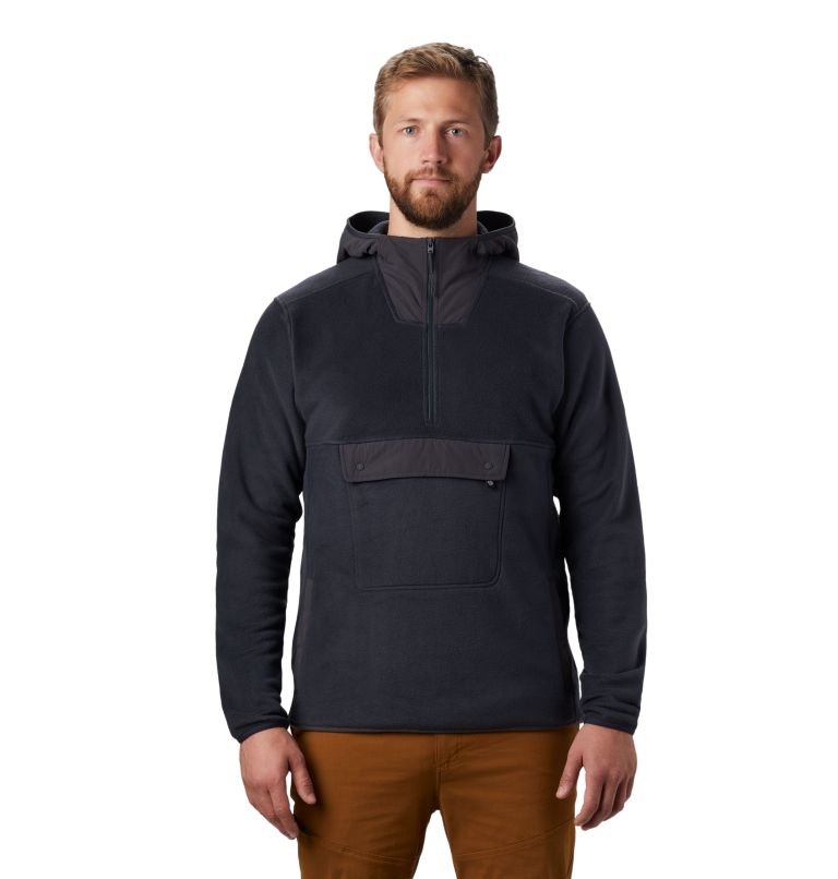 UnClassic™ Fleece Hoody | 004 | S Men's UnClassic™ Fleece Pullover, Dark Storm, front