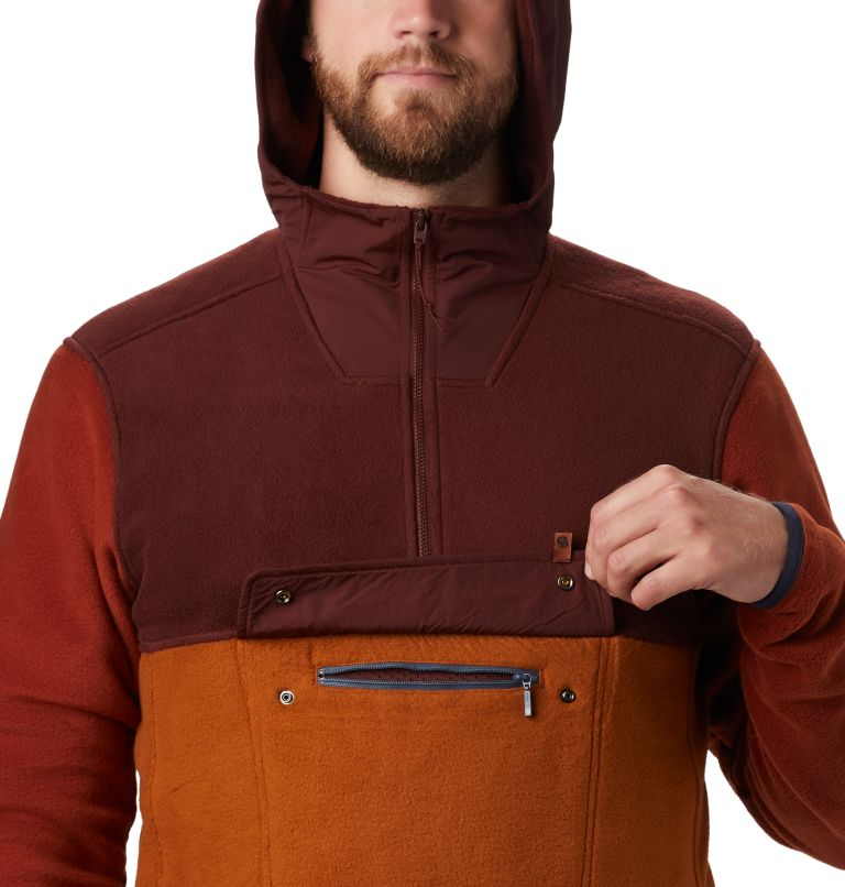 UnClassic™ Fleece Hoody | 259 | S Men's UnClassic™ Fleece Pullover, Dark Umber, a2