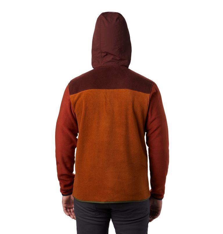 UnClassic™ Fleece Hoody | 259 | S Men's UnClassic™ Fleece Pullover, Dark Umber, back