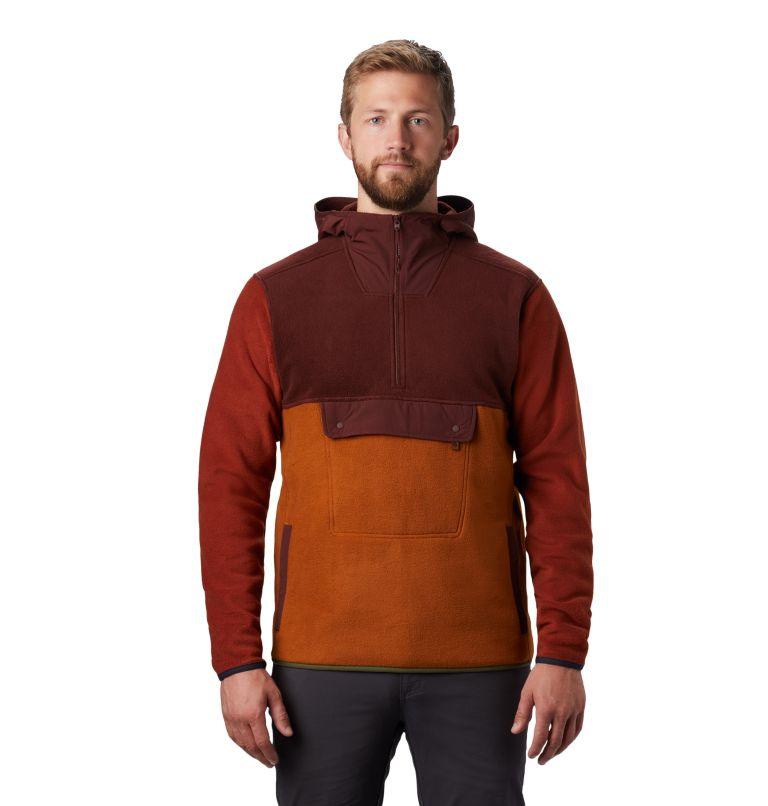 UnClassic™ Fleece Hoody | 259 | S Men's UnClassic™ Fleece Pullover, Dark Umber, front