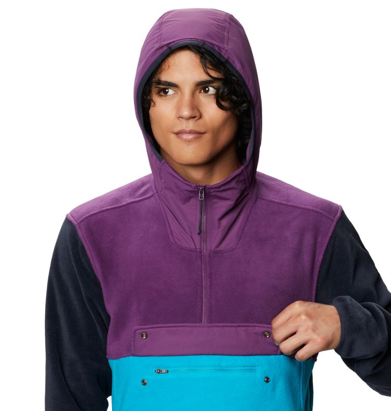 UnClassic™ Fleece Pullover | 502 | S Men's UnClassic™ Fleece Pullover, Cosmos Purple, a2