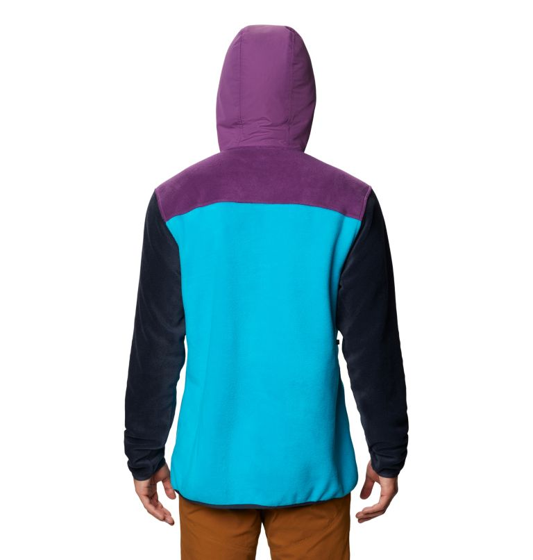UnClassic™ Fleece Pullover | 502 | S Men's UnClassic™ Fleece Pullover, Cosmos Purple, back