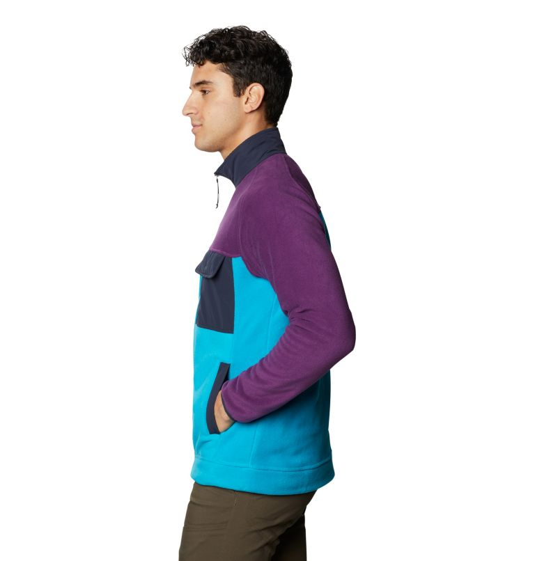 UnClassic™ Fleece Jacket | 502 | XL Men's UnClassic™ Fleece Jacket, Cosmos Purple, a1