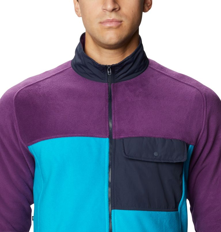 UnClassic™ Fleece Jacket | 502 | XL Men's UnClassic™ Fleece Jacket, Cosmos Purple, a2