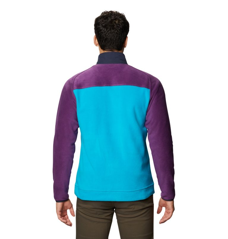 UnClassic™ Fleece Jacket | 502 | XL Men's UnClassic™ Fleece Jacket, Cosmos Purple, back