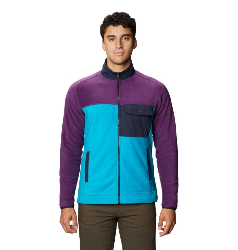 UnClassic™ Fleece Jacket | 502 | XL Men's UnClassic™ Fleece Jacket, Cosmos Purple, front