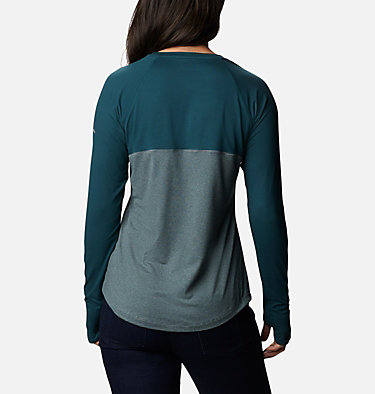 Women's Cross Trails™ Long Sleeve Shirt Cross Trails™ Long Sleeve Shirt | 375 | L, Dark Seas Stripe, Dark Seas, back
