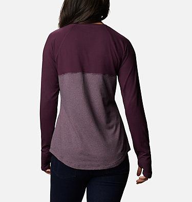 Women's Cross Trails™ Long Sleeve Shirt Cross Trails™ Long Sleeve Shirt   375   L, Black Cherry Stripe, Black Cherry, back