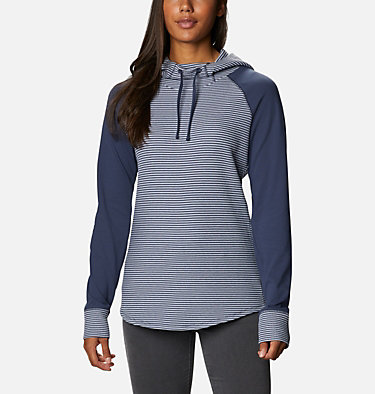 Cascade Gorge™ Hoodie Cascade Gorge™ Hoodie | 010 | M, Nocturnal Heather Stripe, Nocturnal, front