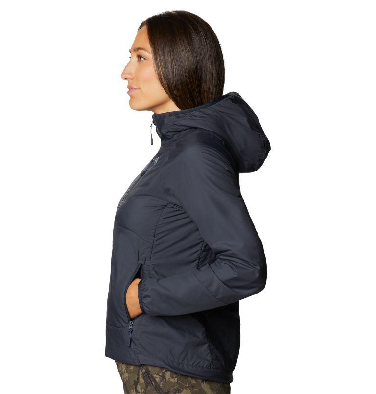 Kor Cirrus™ Hybrid Hoody | 406 | XL Women's Kor Cirrus™ Hybrid Hoody, Dark Zinc, a1