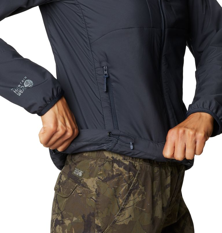 Kor Cirrus™ Hybrid Hoody | 406 | XL Women's Kor Cirrus™ Hybrid Hoody, Dark Zinc, a3