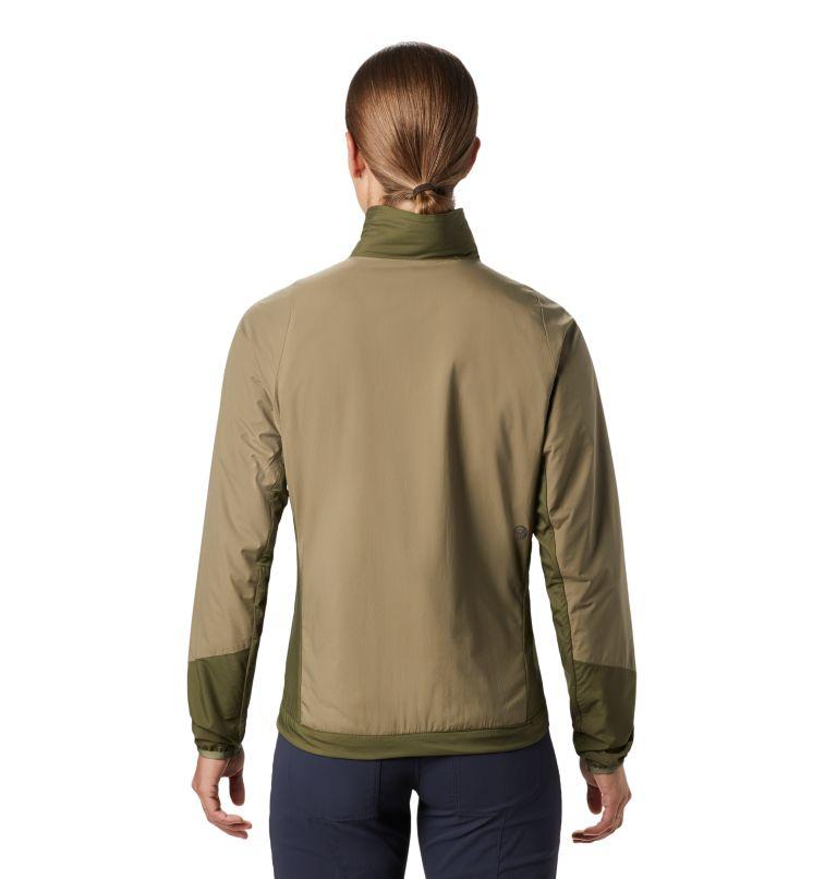Kor Cirrus™ Hybrid Jacket | 333 | M Women's Kor Cirrus™ Hybrid Jacket, Light Army, back
