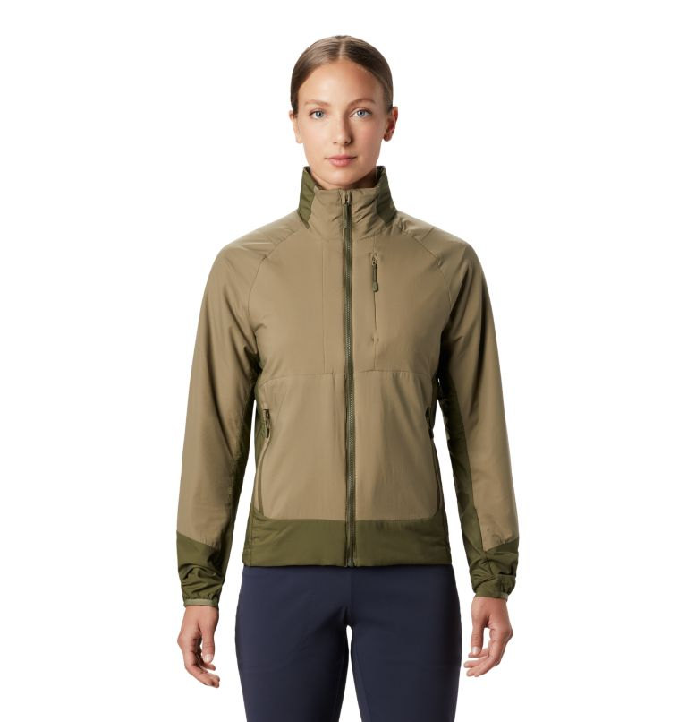 Kor Cirrus™ Hybrid Jacket | 333 | M Women's Kor Cirrus™ Hybrid Jacket, Light Army, front