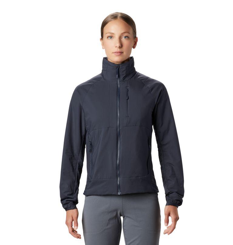 Kor Cirrus™ Hybrid Jacket | 406 | XS Women's Kor Cirrus™ Hybrid Jacket, Dark Zinc, front