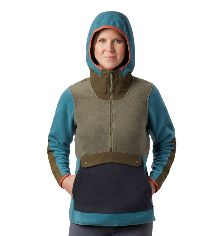 UnClassic™ Fleece Hoody | 447 | XS Women's UnClassic™ Fleece Hoody, Washed Turq, a1