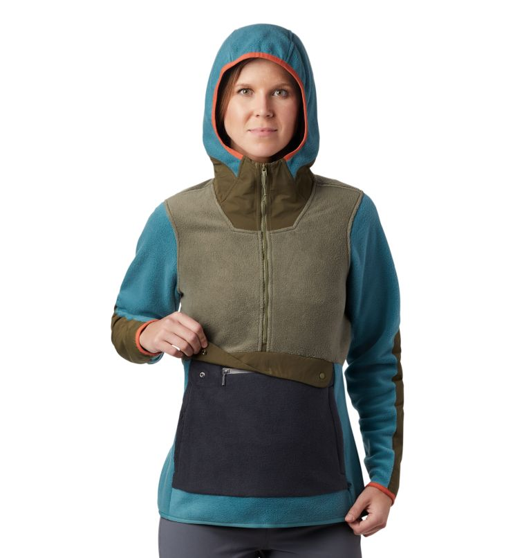 UnClassic™ Fleece Hoody | 447 | XS Women's UnClassic™ Fleece Hoody, Washed Turq, a2