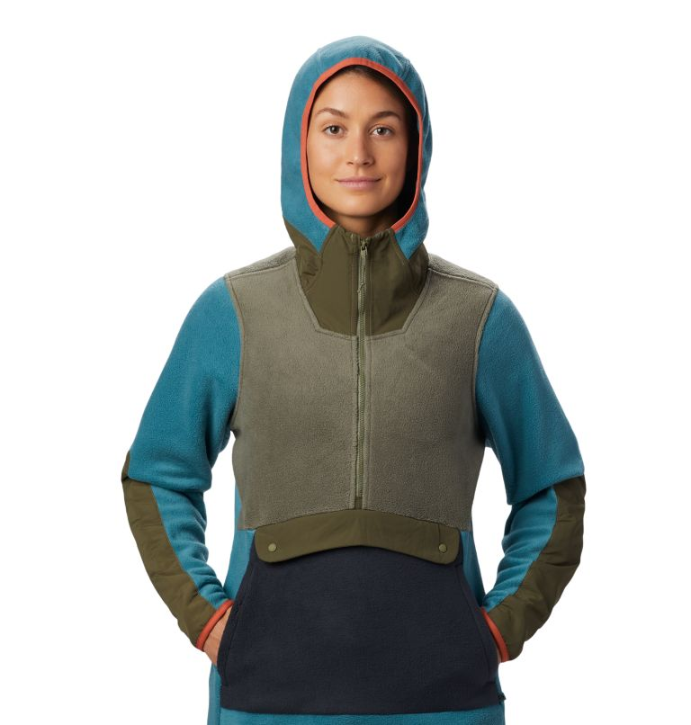 UnClassic™ Fleece Hoody | 447 | XS Women's UnClassic™ Fleece Hoody, Washed Turq, a3