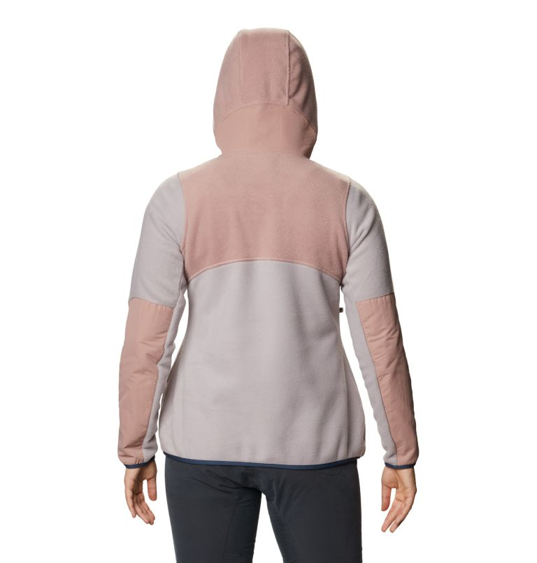 UnClassic™ Fleece Hoody | 643 | S Women's UnClassic™ Fleece Hoody, Smoky Quartz, back