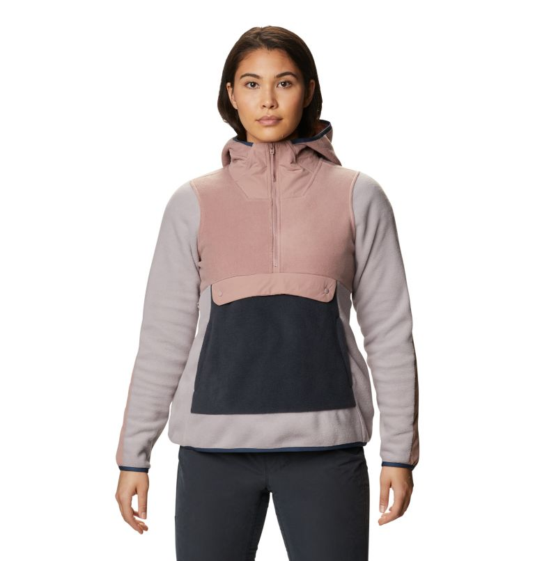 UnClassic™ Fleece Hoody | 643 | S Women's UnClassic™ Fleece Hoody, Smoky Quartz, front