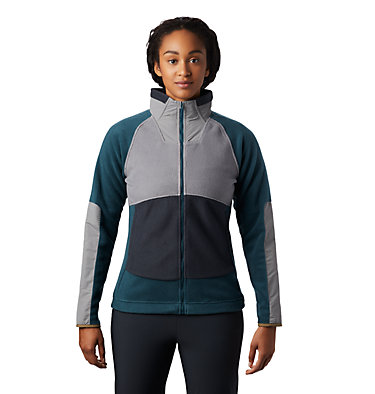 Women's UnClassic™ Fleece Jacket UnClassic™ Fleece Jacket | 005 | L, Washed Turq, front