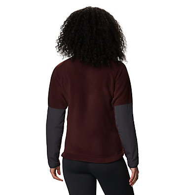 Women's UnClassic™ Fleece Jacket UnClassic™ Fleece Jacket | 005 | L, Washed Raisin, back