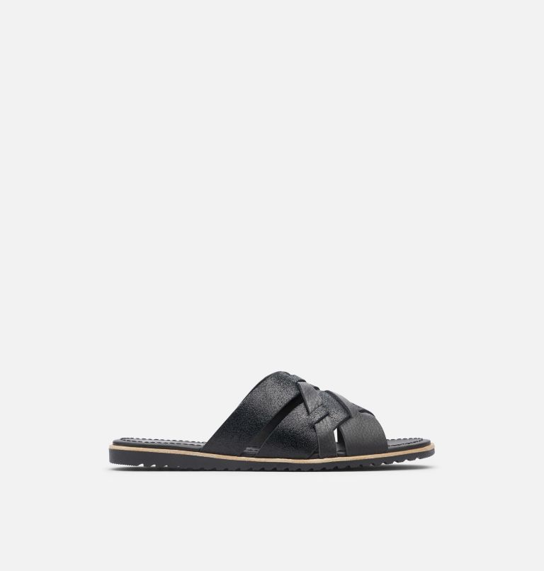 ELLA™ SLIDE | 010 | 8 Women's Ella™ Slide, Black, front