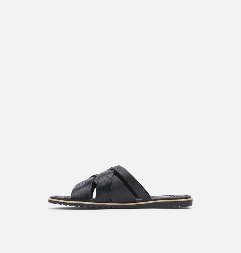 ELLA™ SLIDE | 010 | 8 Women's Ella™ Slide, Black, medial