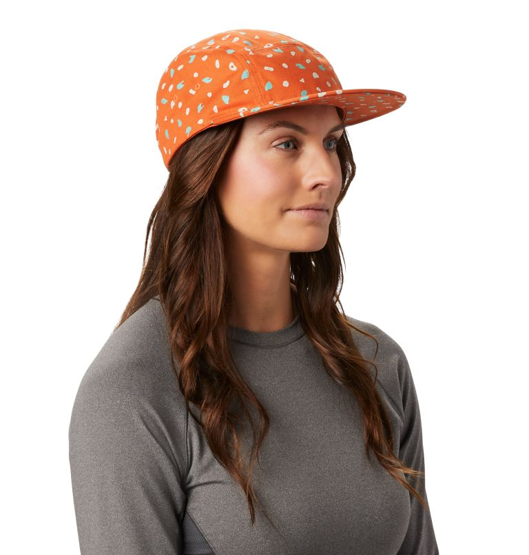 Hand/Hold™ Printed Camp Hat | 258 | O/S Women's Hand/Hold™ Printed Camp Hat, Rust Earth, a1
