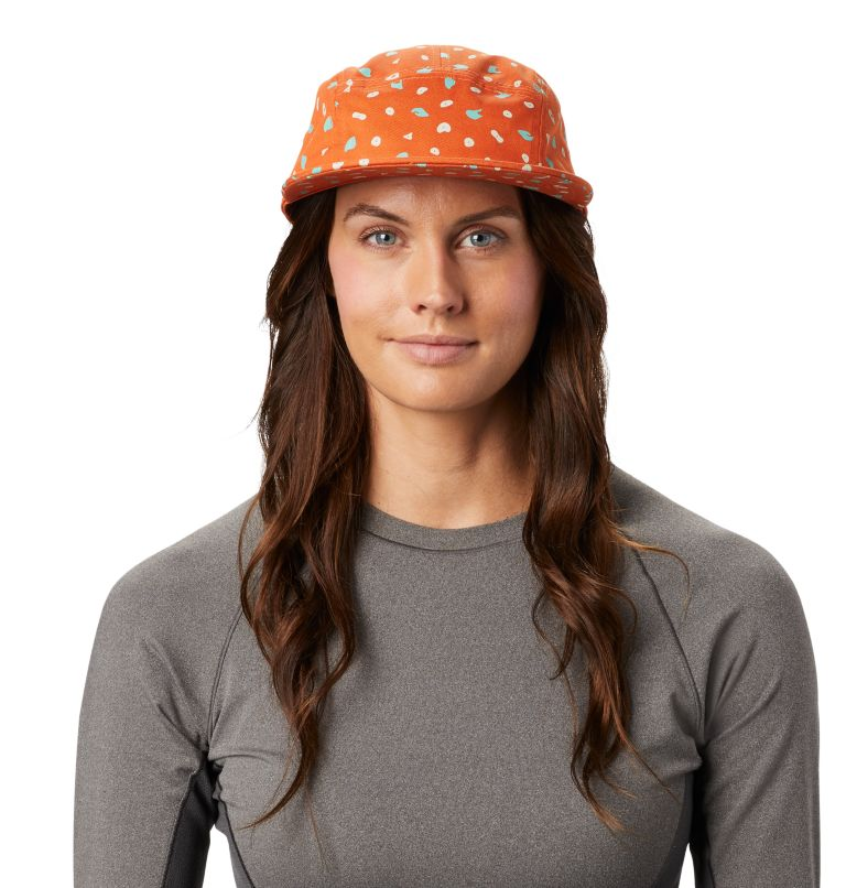 Hand/Hold™ Printed Camp Hat | 258 | O/S Women's Hand/Hold™ Printed Camp Hat, Rust Earth, front
