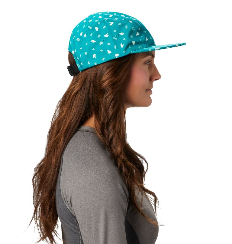 Hand/Hold™ Printed Camp Hat | 345 | O/S Women's Hand/Hold™ Printed Camp Hat, Vivid Teal, a2