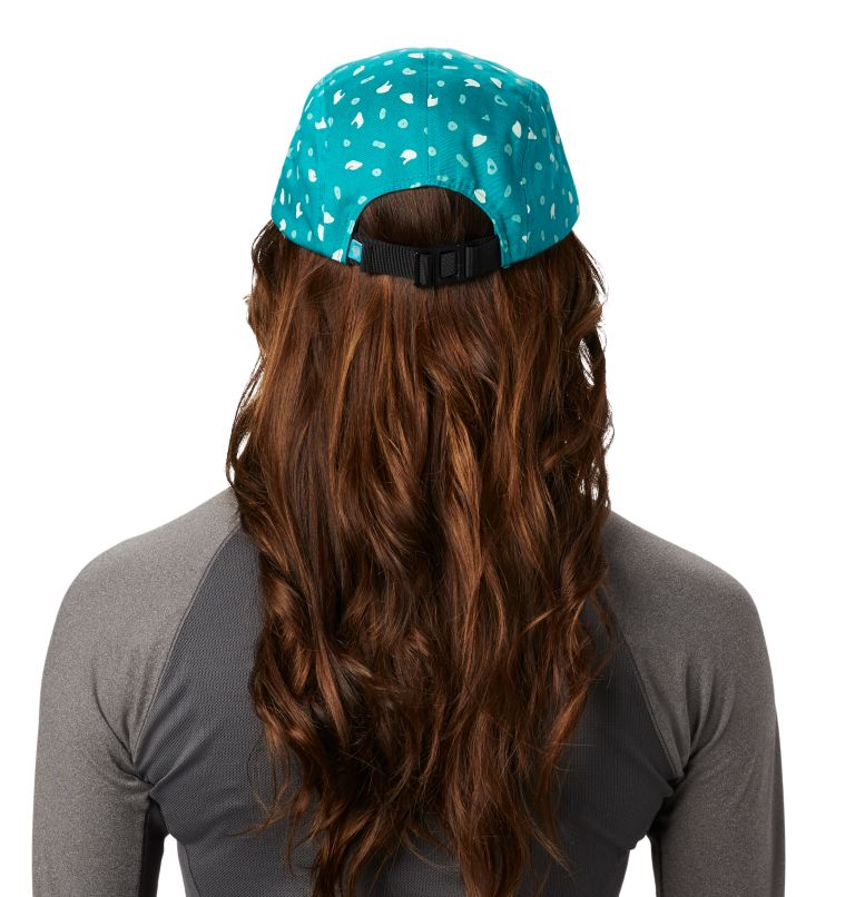 Hand/Hold™ Printed Camp Hat | 345 | O/S Women's Hand/Hold™ Printed Camp Hat, Vivid Teal, back