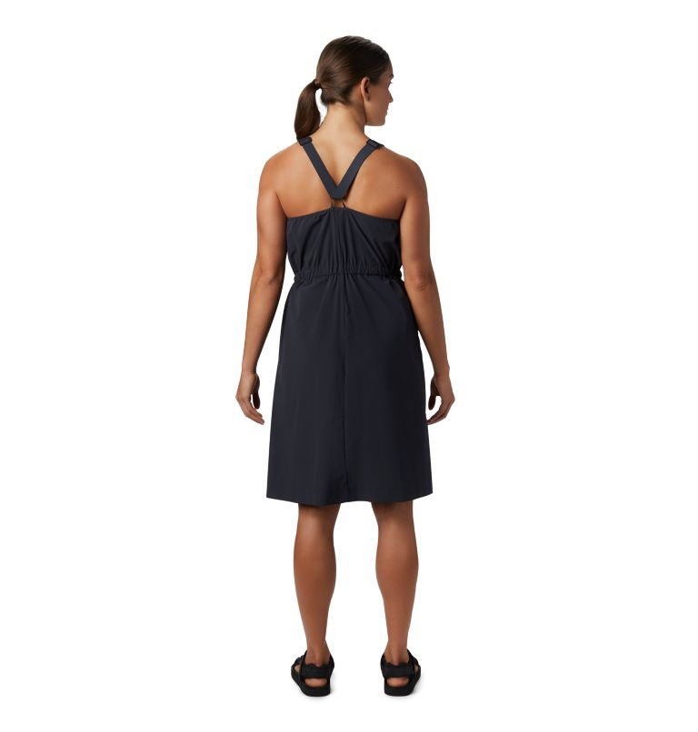 Freefall™ Halter Dress | 004 | M Women's Freefall™ Halter Dress, Dark Storm, back