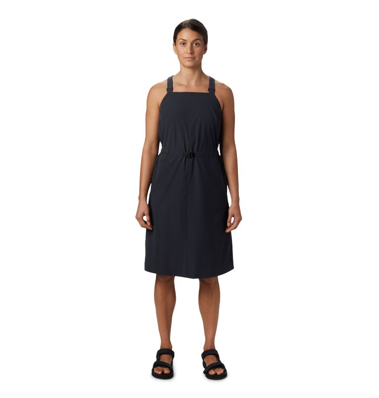 Freefall™ Halter Dress | 004 | M Women's Freefall™ Halter Dress, Dark Storm, front