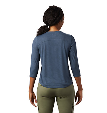 Women's Right On™ 3/4 T-Shirt Right On™ 3/4 T | 642 | L, Light Zinc, back
