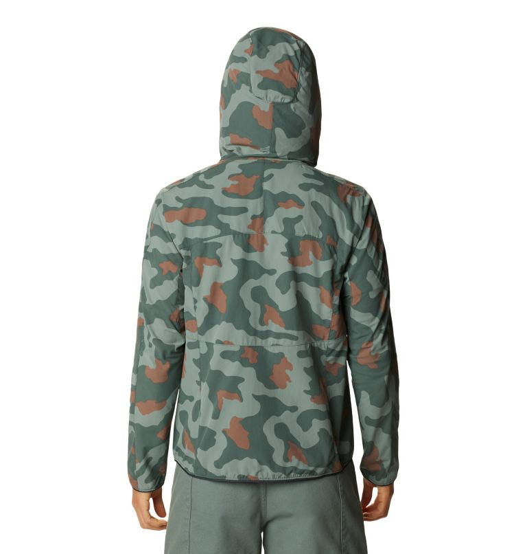 Echo Lake™ Hoody | 337 | L Women's Echo Lake™ Half Zip Hoody, Thunderhead Grey Camo, back