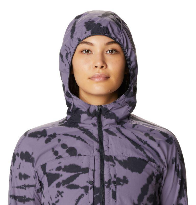 Echo Lake™ Hoody | 549 | L Women's Echo Lake™ Half Zip Hoody, Dusted Sky Zebra Tie Dye, a2