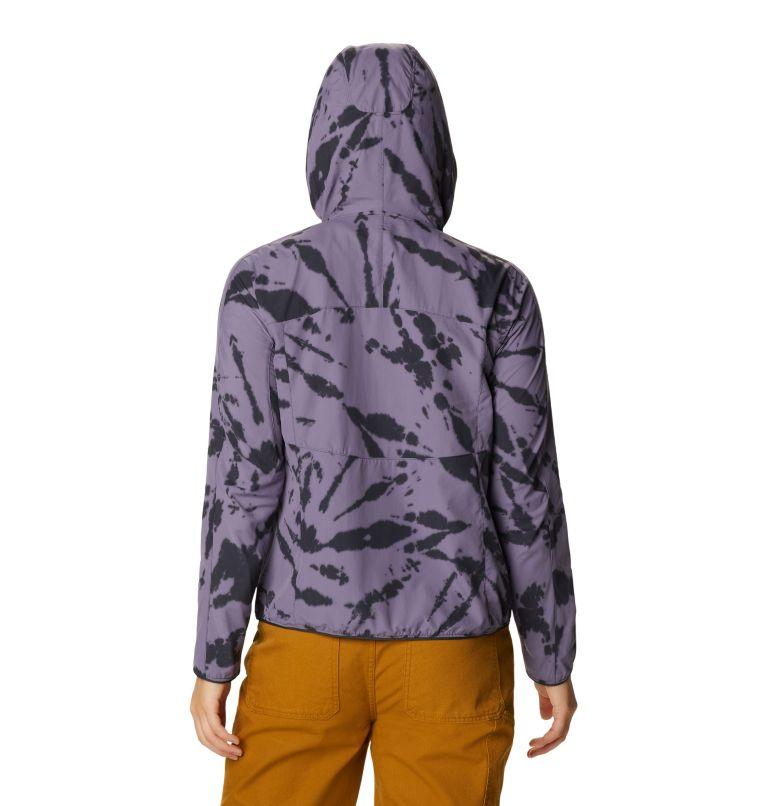 Echo Lake™ Hoody | 549 | L Women's Echo Lake™ Half Zip Hoody, Dusted Sky Zebra Tie Dye, back