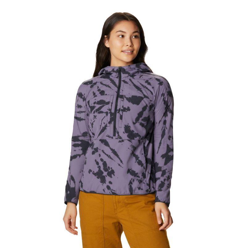 Echo Lake™ Hoody | 549 | L Women's Echo Lake™ Half Zip Hoody, Dusted Sky Zebra Tie Dye, front