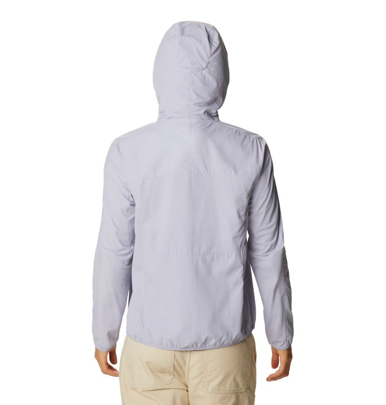 Echo Lake™ Hoody | 558 | L Women's Echo Lake™ Half Zip Hoody, Frost Grey, back