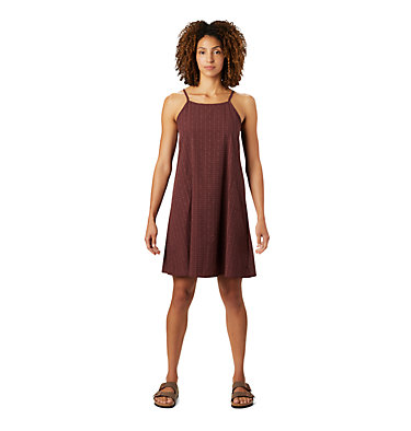 Women's Echo Lake™ Strappy Dress Echo Lake™ Strappy Dress | 333 | L, Washed Raisin, front