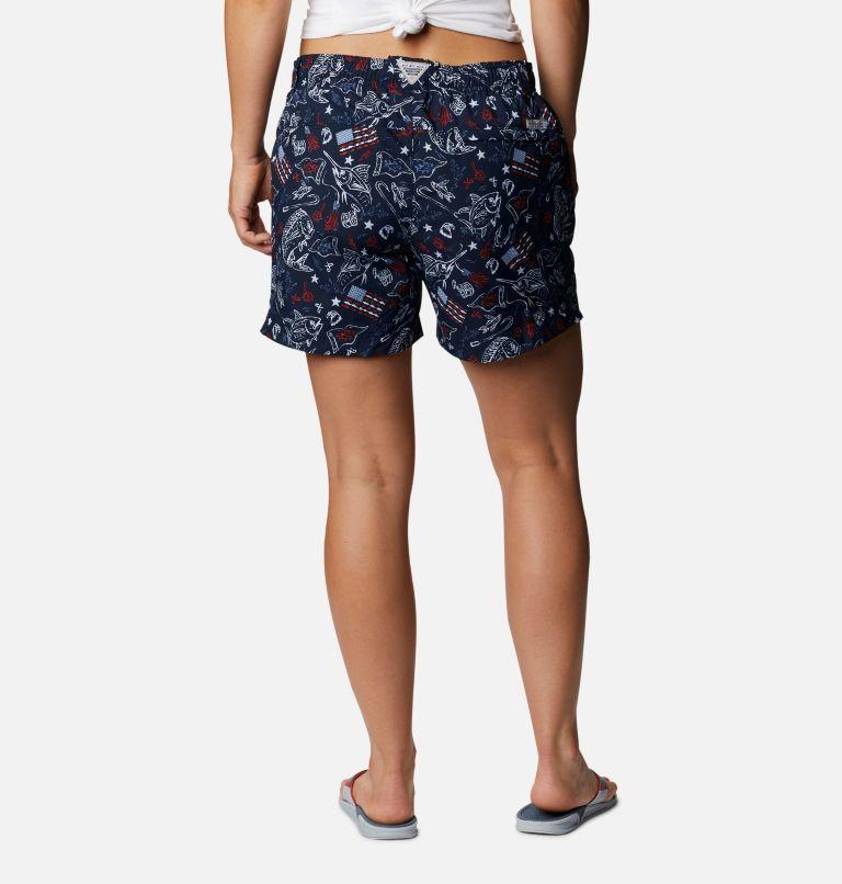 Women's Americana PFG Super Backcast™ Water Shorts Women's Americana PFG Super Backcast™ Water Shorts, back