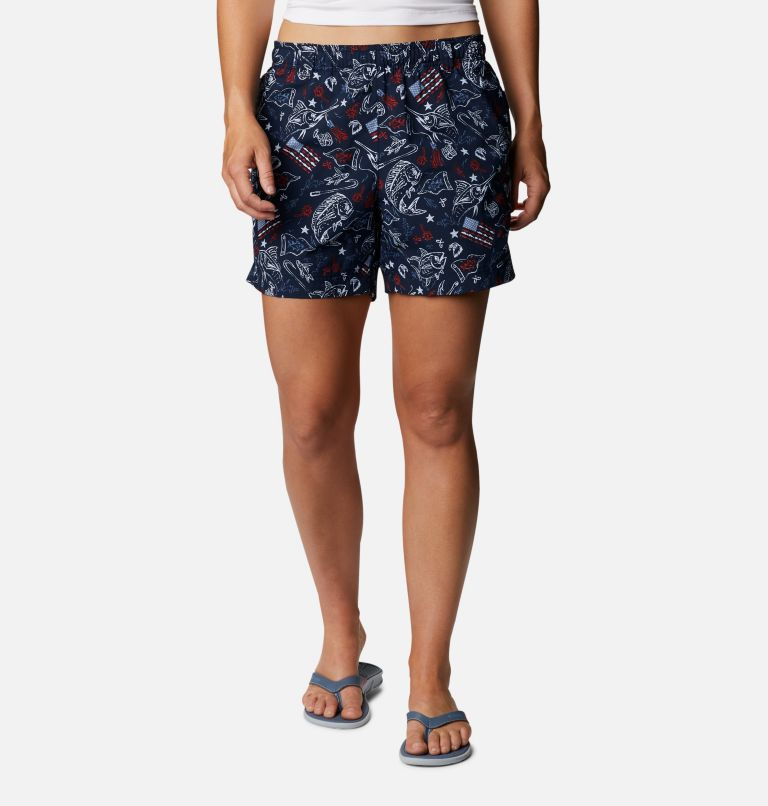 Women's Americana PFG Super Backcast™ Water Shorts Women's Americana PFG Super Backcast™ Water Shorts, front