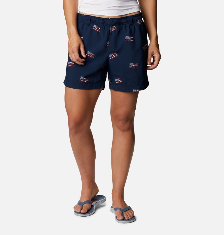 Women's Americana PFG Super Backcast™ Water Shorts Women's Americana PFG Super Backcast™ Water Shorts, front