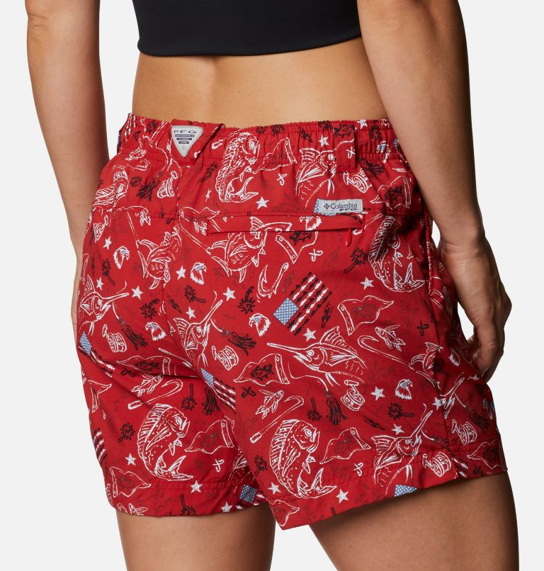 Women's Americana PFG Super Backcast™ Water Shorts Women's Americana PFG Super Backcast™ Water Shorts, a3