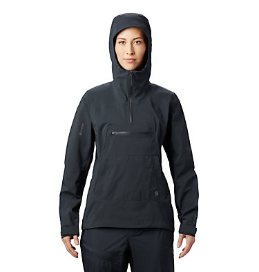 Women's Exposure/2™ Gore-Tex® Paclite Stretch Pullover Exposure/2™ Gore-Tex® Paclite Stretch PO | 447 | L, Dark Storm, front
