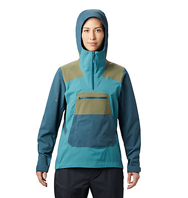 Women's Exposure/2™ Gore-Tex® Paclite Stretch Pullover Exposure/2™ Gore-Tex® Paclite Stretch PO | 447 | L, Washed Turq, front