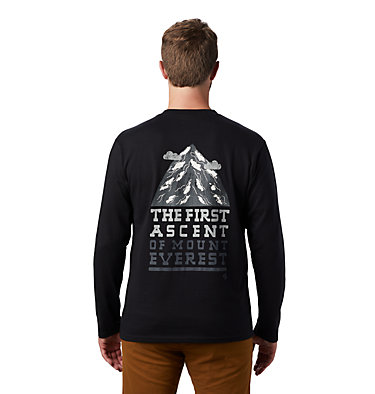 Men's Hotel Basecamp™ Long Sleeve T-Shirt Hotel Basecamp™ Long Sleeve T | 354 | L, Black, back