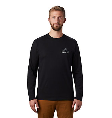 Men's Hotel Basecamp™ Long Sleeve T-Shirt Hotel Basecamp™ Long Sleeve T | 354 | L, Black, front